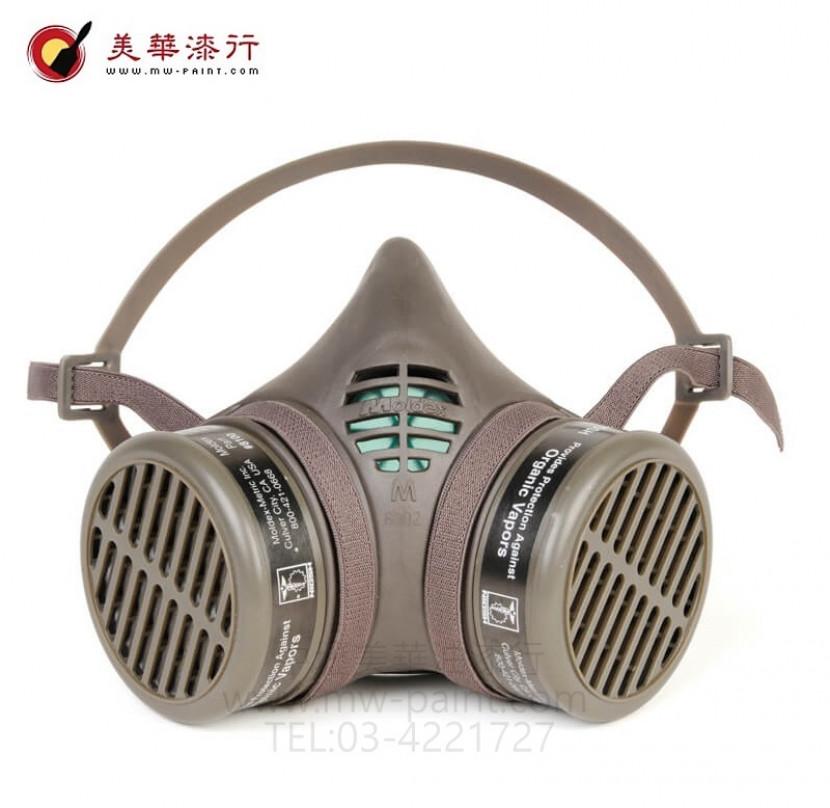 美國MOLDEX專業防毒面具6_800_