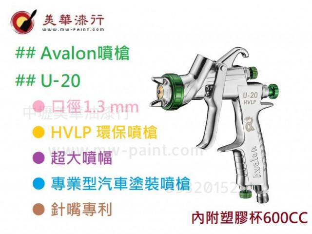 AVALON-U20噴槍